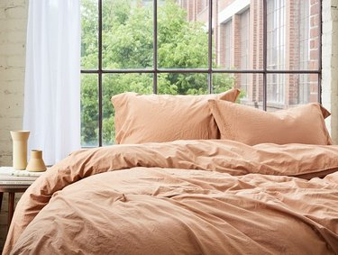 Coyuchi Organic Crinkled Percale Duvet Cover (Full/Queen), $168