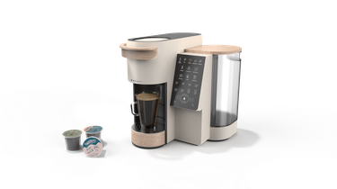 bruvi coffee system and three B-Pods