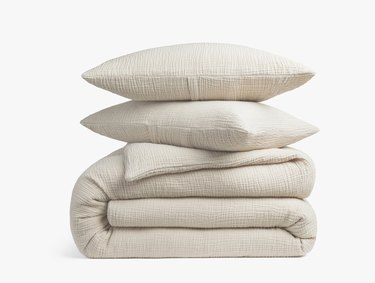 Parachute Cloud Cotton Duvet Set, $259