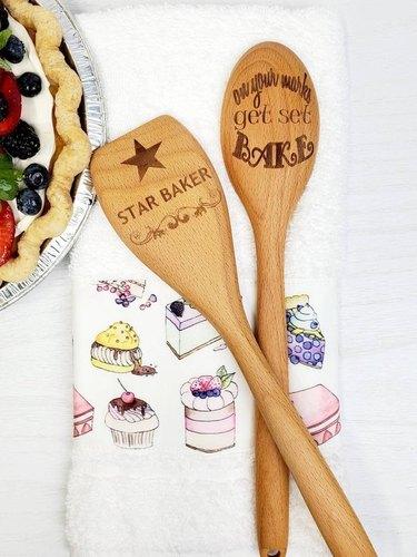 Sassy Chikkin Set of Wooden Spoons