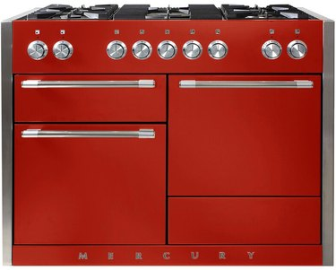 red colorful stove Best Stoves for Color Lovers