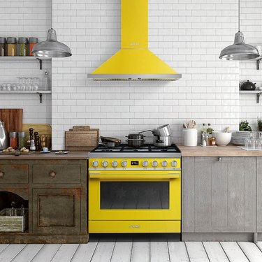 yellow colorful stove Best Stoves for Color Lovers