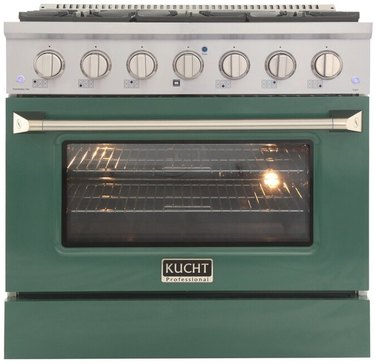 green colorful stove Best Stoves for Color Lovers