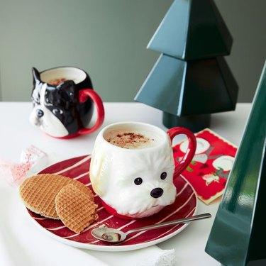 west elm holiday mugs