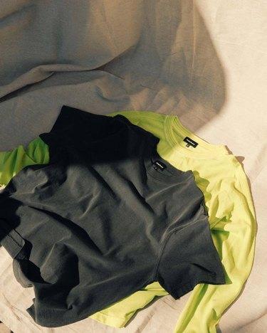 neon swearshirt and t-shirt pack