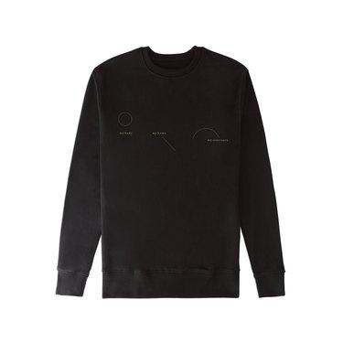 vitruvi black sweater