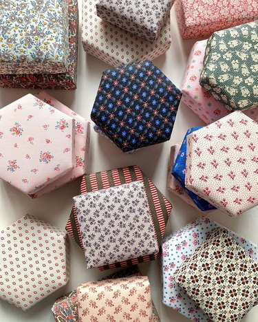 Nachmans Fabric-Covered Box, price upon request