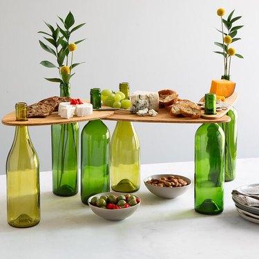 uncommon goods wine serving set