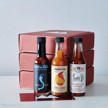 Fuego Box Small-Batch Quarterly Hot Sauce Subscription, $120