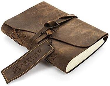 Artisan Scribe Leather Journal, $22.99