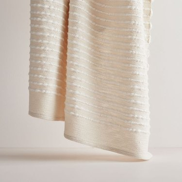West Elm Soft Corded Throw