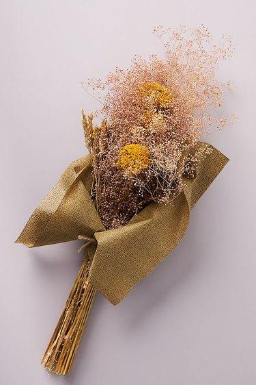 Anthropologie Dried Gypsophila Bouquet