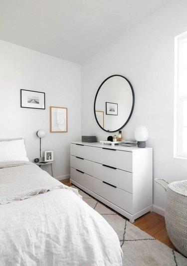 IKEA Tarva dresser painted white