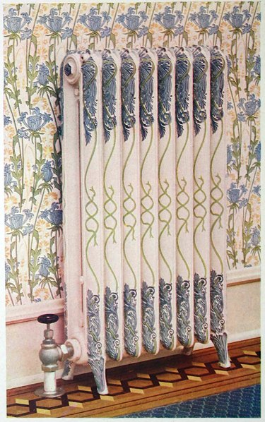 Decorative radiator pattern from an American Radiator Company catalogue