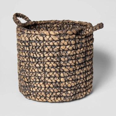 Threshold Decorative Gray Basket