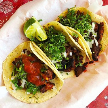 Mexico in my Kitchen Tacos al Pastor