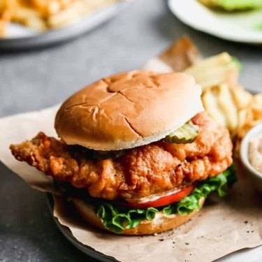 Tastes Better From Scratch Chick-fil-A Crispy Chicken Sandwich