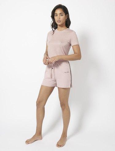 Ninety Percent Brushed Tencel T-Shirt and Pyjama Shorts