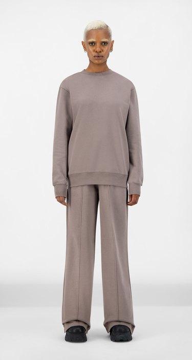 Daily Paper Iron Brown Derib Sweater and shield hifa pants