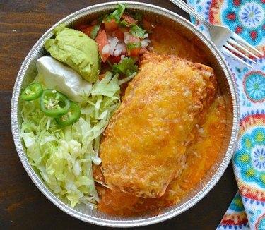 My Latina Table Smothered Carne Asada Burritos