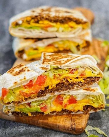The Edgy Veg Vegan Crunchwrap Supreme