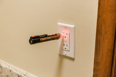 Turn the electricity back on and test to make sure your new outlet works.