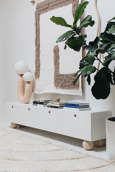 IKEA Besta unit with Semihandmade doors