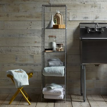 7 Industrial Bathroom Storage Ideas That Will Make Even the Smallest Spaces Feel Organized