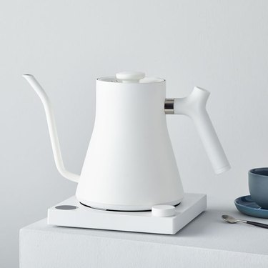 sleek pour-over electric kettle