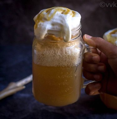 Vidhya's Vegetarian Kitchen Homemade Butterbeer Recipe