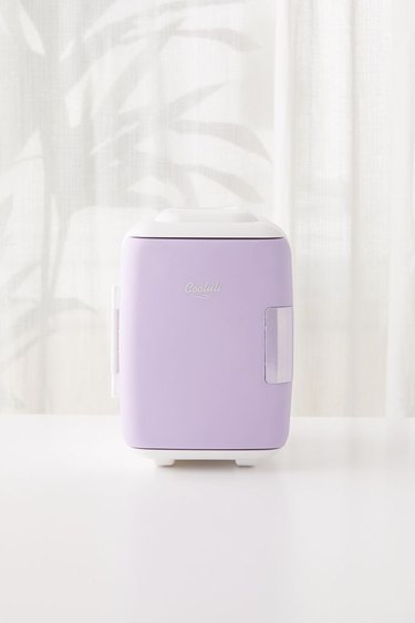 lavender mini refrigerator