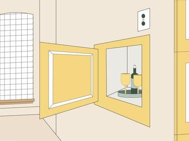 dumbwaiter illustration