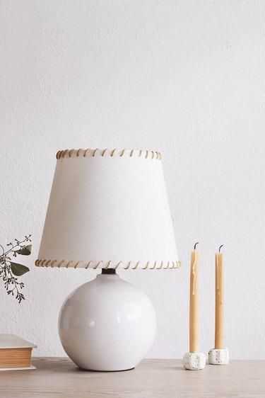 IKEA SKOTTORP lampshade hack