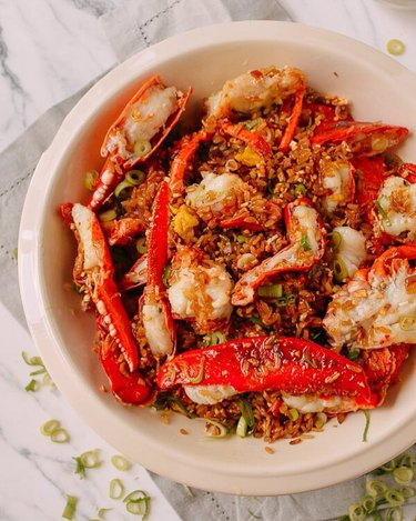 the Woks of Life Lobster Sticky Fried Rice