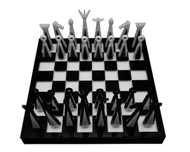 Silvino Lopeztovar chess set