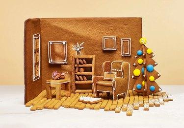 ikea gingerbread room