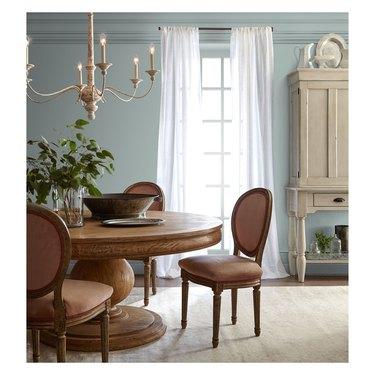 Magnolia Home Interior Paint Rainy Days in dining room