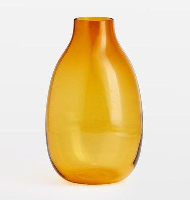 Rejuvenation Audrey Tall Smoke Glass Vase