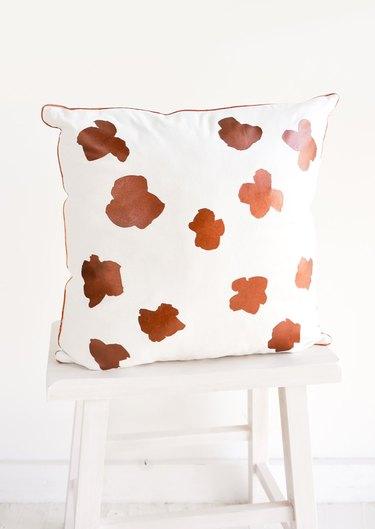 Leif Ink Flower Pillow