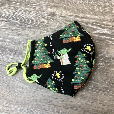 CustomMasksBySusan Yoda Mask, $14