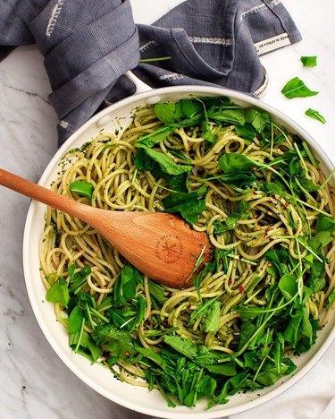 Love & Lemons Easy Pesto Pasta