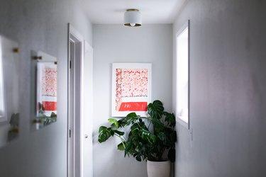 Modern Hallway Lighting flush mount