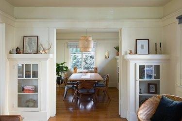 Craftsman-style dining room
