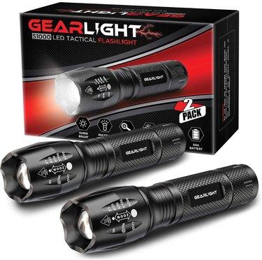 : GearLight LED Flashlight (2-Pack)