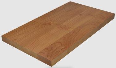 face grain butcher block countertop