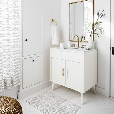 Mid Century Single Bathroom Vanity