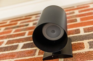 This motion detector puck light allows you to have outdoor light as needed.