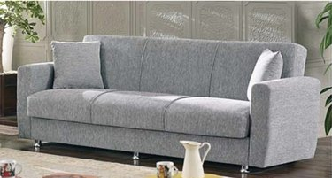 Niagara Gray Fabric Sofa Bed