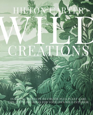 green book cover with text Hilton Carter Wild Creations