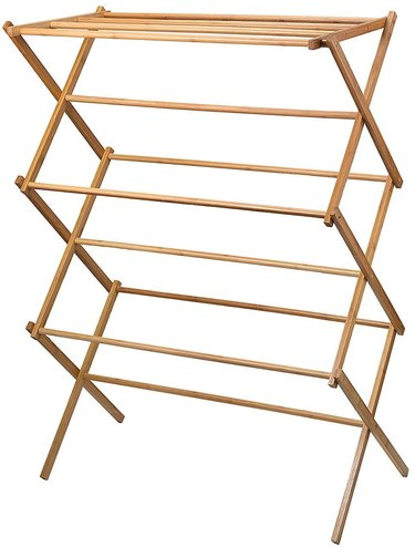 Home-it Bamboo Wooden Clothes Rack